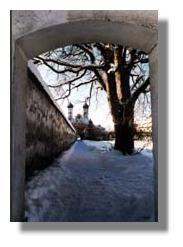 Kloster Benediktbeuern im Winter